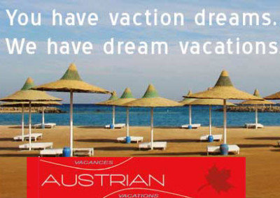 Austrian Vacations slogan