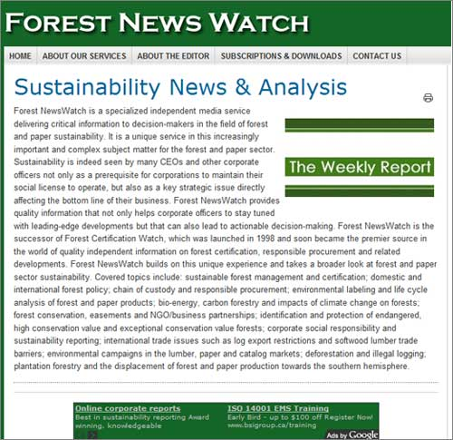 Forest News Watch