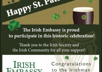 Irish Embassy flyers
