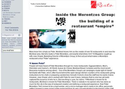 Inside the Morentzos Group