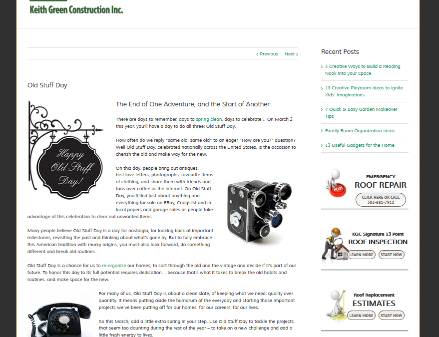 Keith Green Construction – Exaltus