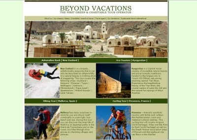 Beyond Vacations