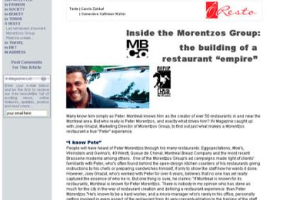 Inside the Morentzos Group